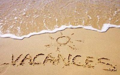 Fermeture estivale (14 juillet – 21 août) !